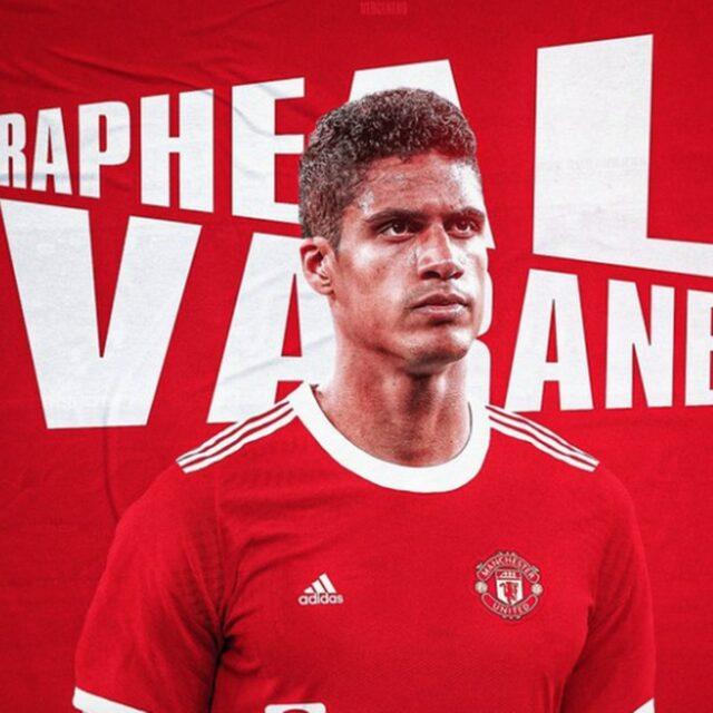 Man United Agree Deal In Principle For Raphael Varane