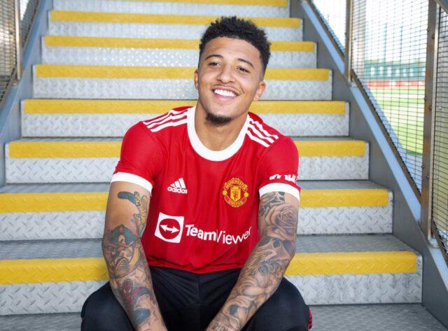 Jadon Sancho Signs For Man United
