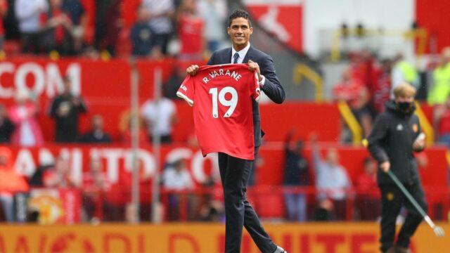Raphael Varane Signs For Man United