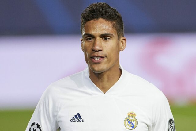 Raphael Varane Flying To Manchester Today For Medical