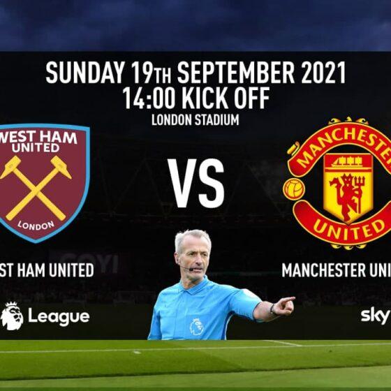 West Ham United vs. Manchester United PL Preview