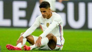 Raphael Varane Injured During Nations League Final